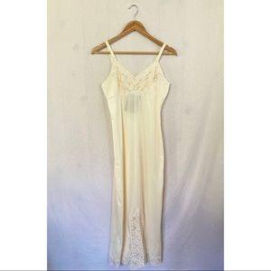 4/$20 Vintage long slip dress